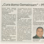 Zeitungsausschnitt Flachgauer Nachrichten Februar 2016