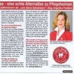 Zeitungsausschnitt Impuls Tirol 2015