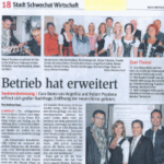 Zeitungsausschnitt NÖN Schwechat 2015