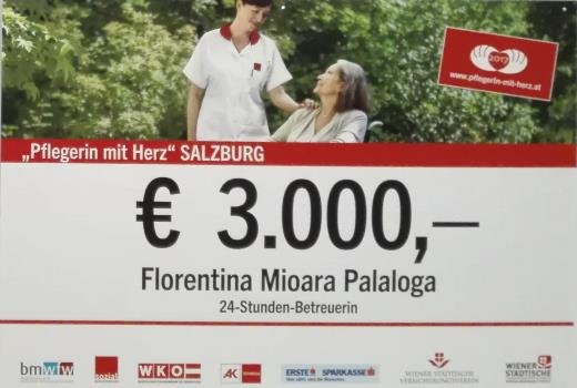 Pflegerinnen mit Herz für Salzburg 2017