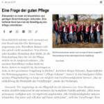 Zeitungsausschnitt Vorarlberger Tageszeitung Jänner 2017