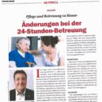 Zeitungsausschnitt Vorarlberger Tageszeitung März 2016