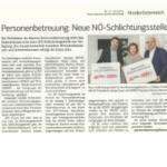 Zeitungsausschnitt WKNÖ März 2018