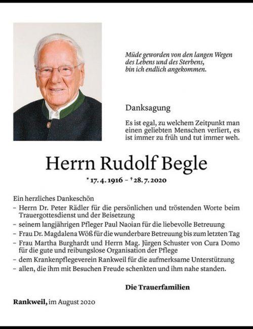 Rudolf Begle